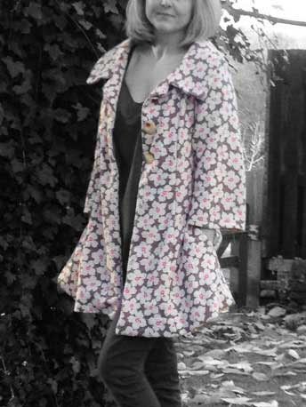 Spring coat – New Look pattern 6736