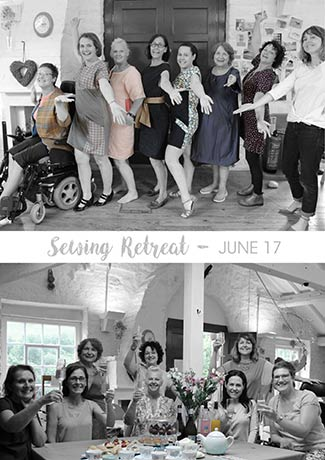 Our first ever sewing retreat – June 2017 – What a success!