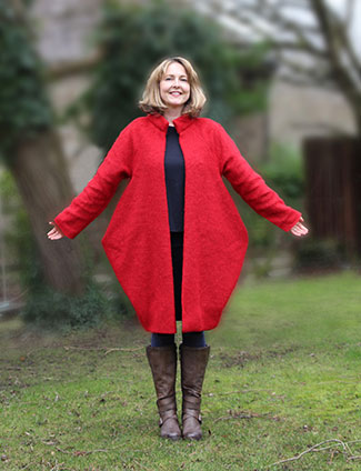 Sculptural Bucket Coat – A unique release from Stitchless TV