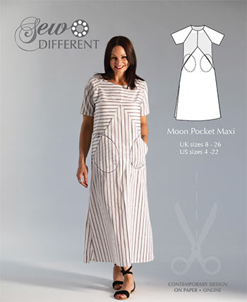 Moon Pocket Maxi – Multisize sewing pattern – on paper or to download