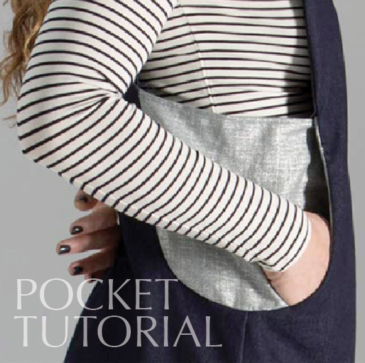 Scoop Pinafore – Step-by-step pocket tutorial