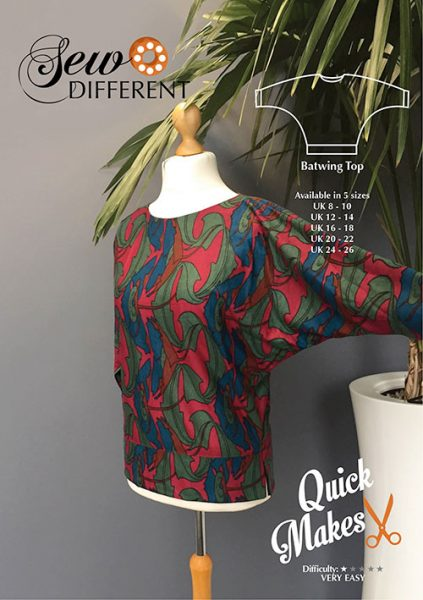 batwing top sewing pattern