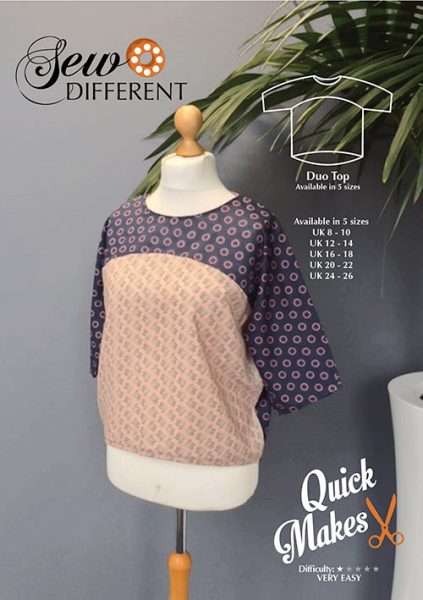 Duo top sewing pattern