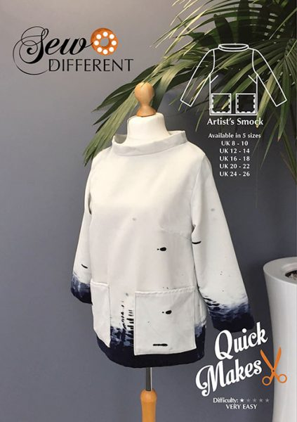 Artists smock sewing pattern
