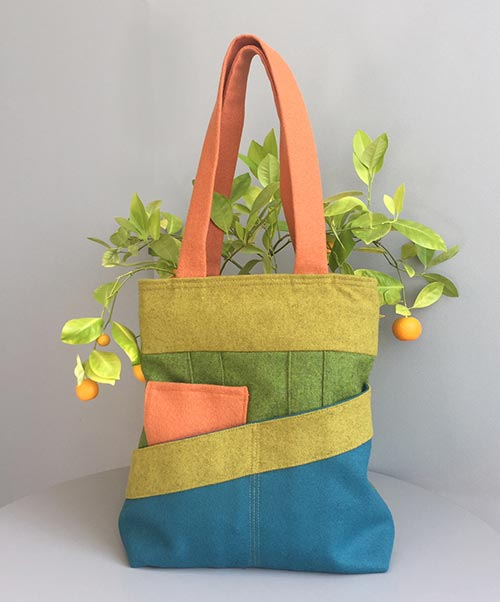 The Weekend Bag – sewing pattern on paper or to download