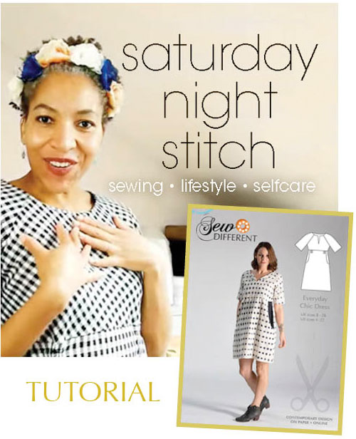 Everyday Chic Dress tutorial